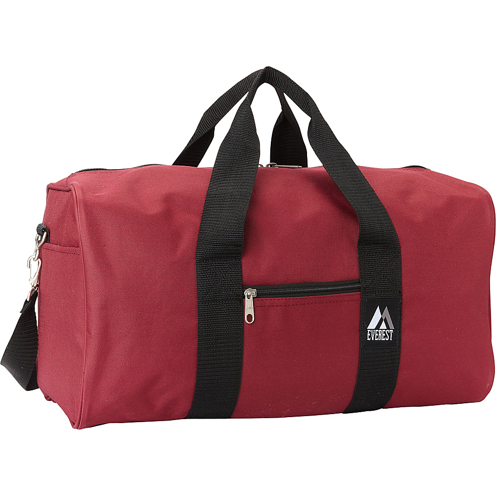Everest Basic Gear Bag - Standard Burgundy - Everest Travel Duffels - Duffels, Travel Duffels