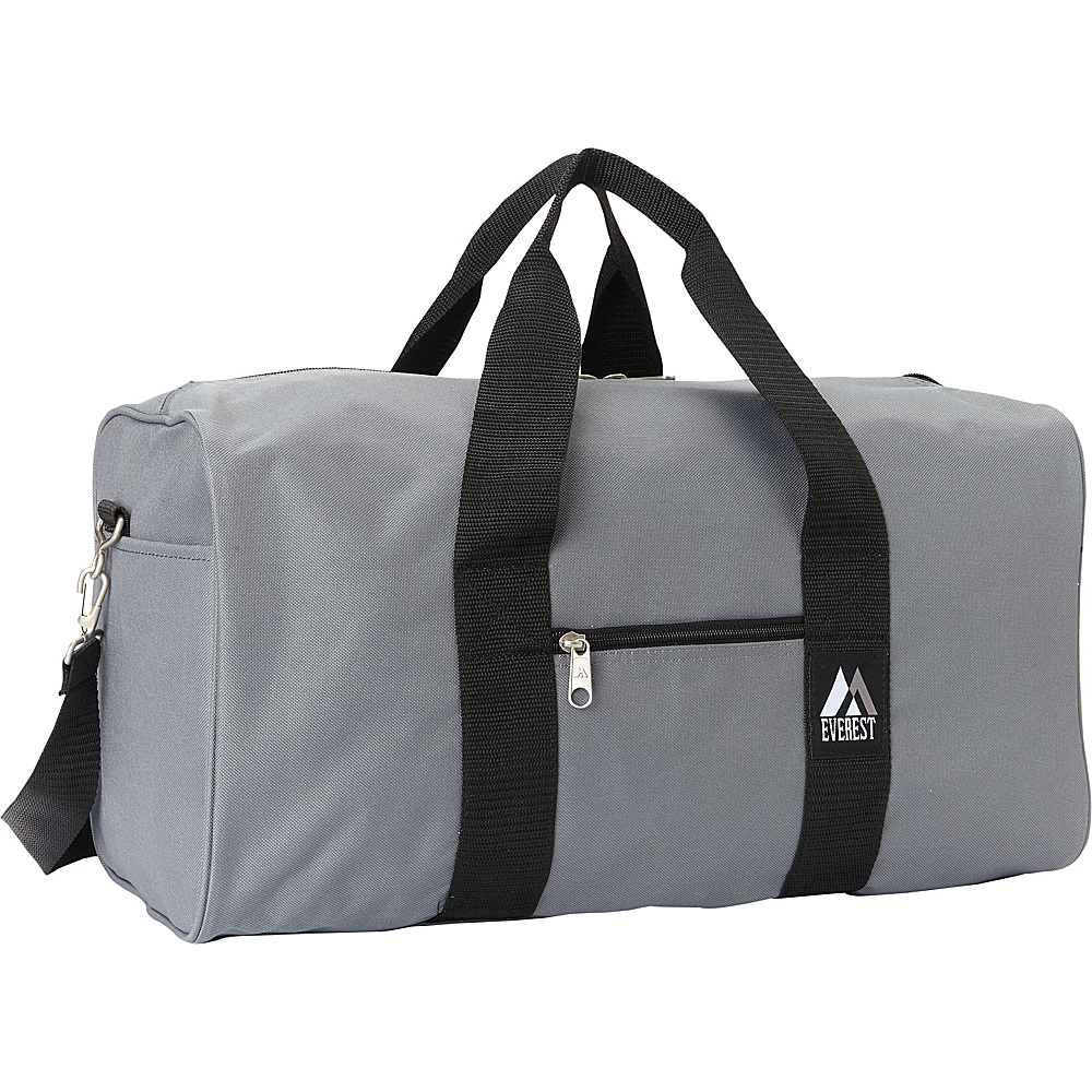 Everest Basic Gear Bag - Standard Dark Gray - Everest Travel Duffels - Duffels, Travel Duffels