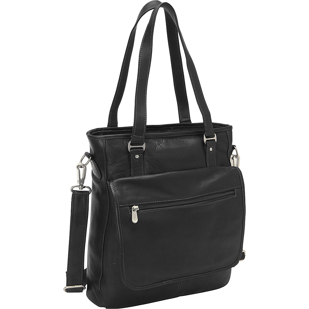 Piel Carry-All Tote Black - Piel Womens Business Bags - Work Bags & Briefcases, Women's Business Bags
