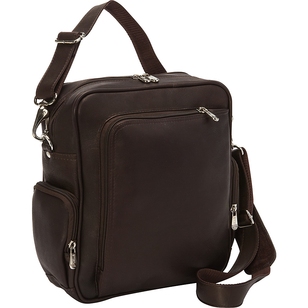 Piel Urban Shoulder Bag Chocolate - Piel Other Mens Bags - Work Bags & Briefcases, Other Men's Bags