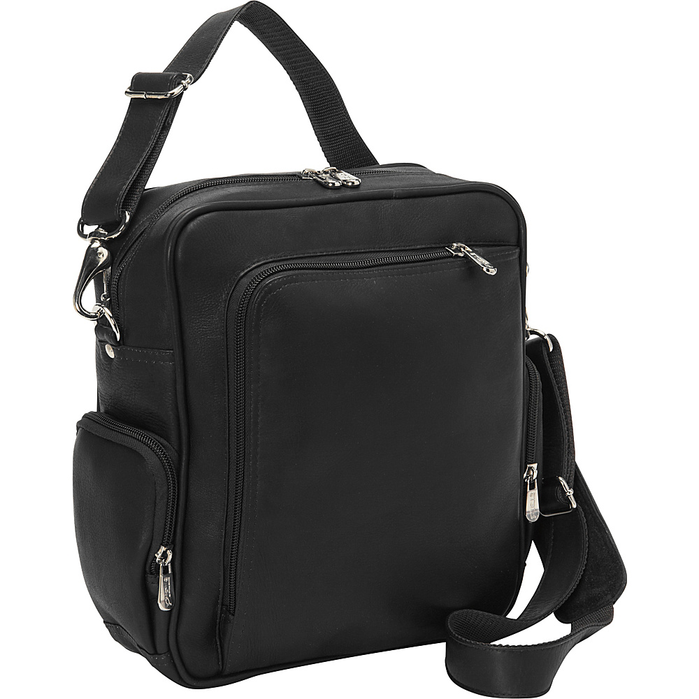 Piel Urban Shoulder Bag Black - Piel Other Mens Bags - Work Bags & Briefcases, Other Men's Bags