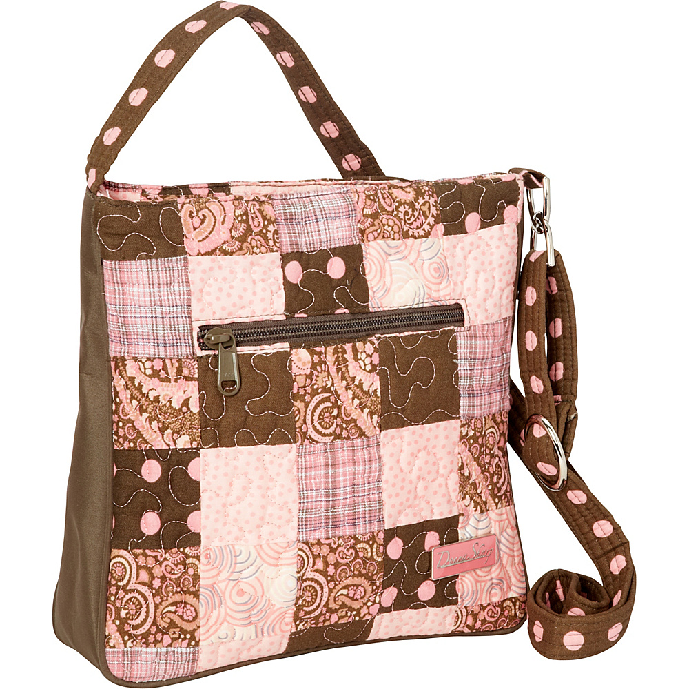 Donna Sharp Hipster - Quilted Mocha Patch - Donna Sharp Fabric Handbags