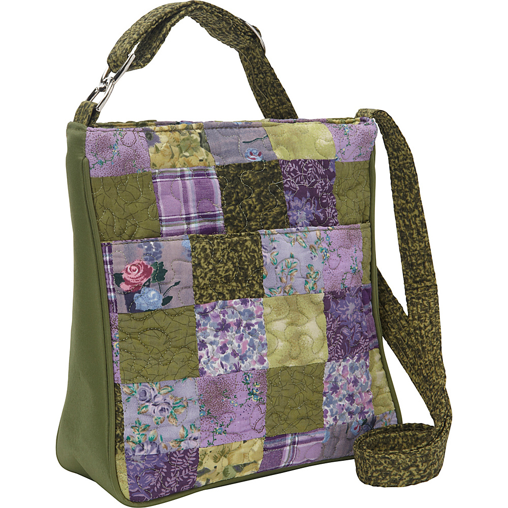 Donna Sharp Hipster - Quilted Grape Patch - Donna Sharp Fabric Handbags