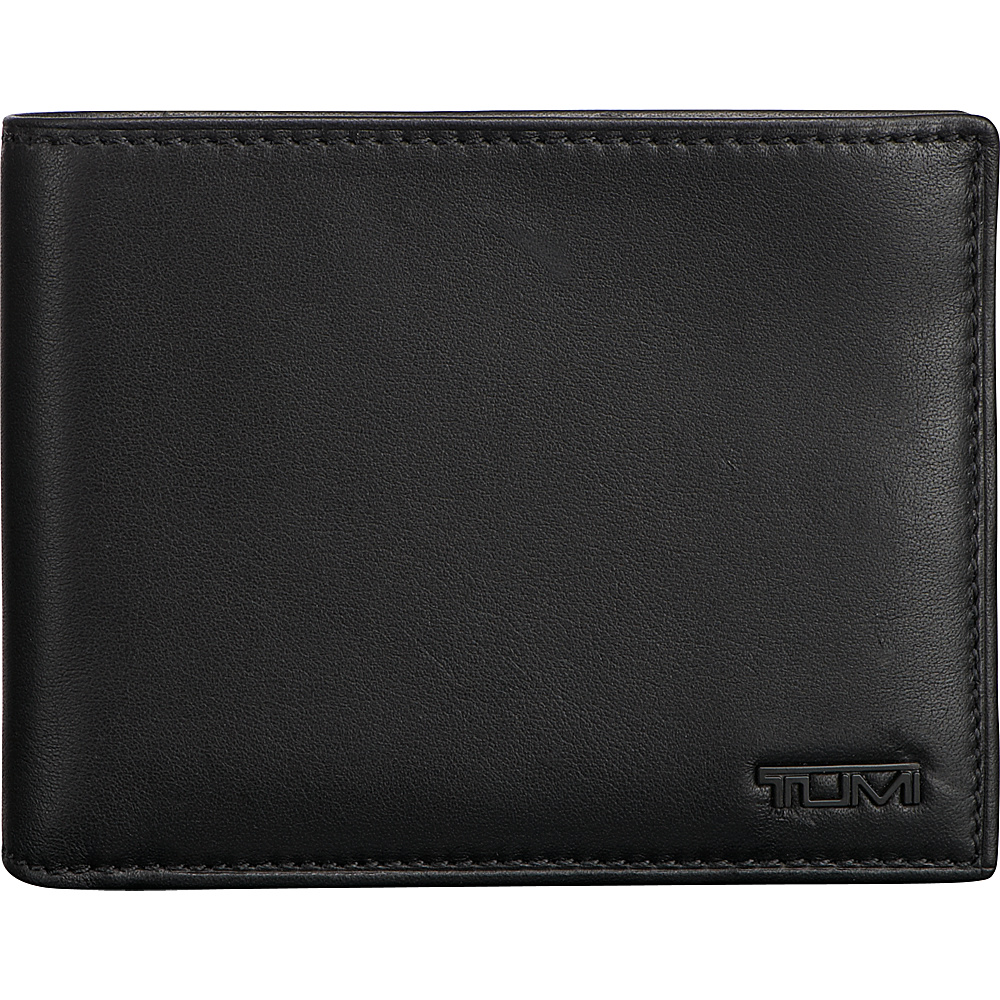 Tumi Delta Global Double Billfold Black - Tumi Mens Wallets - Work Bags & Briefcases, Men's Wallets