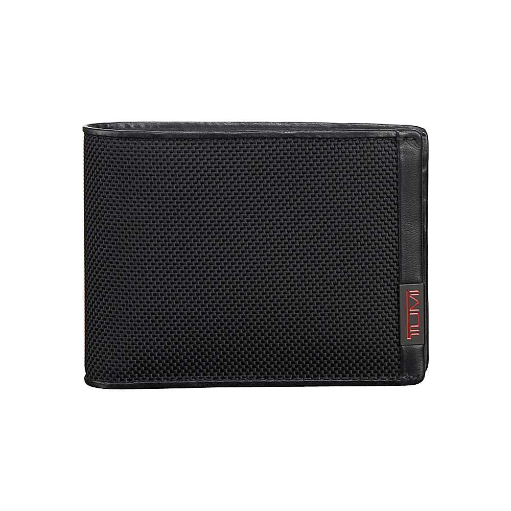 Tumi Alpha Double Billfold Black - Tumi Mens Wallets - Work Bags & Briefcases, Men's Wallets