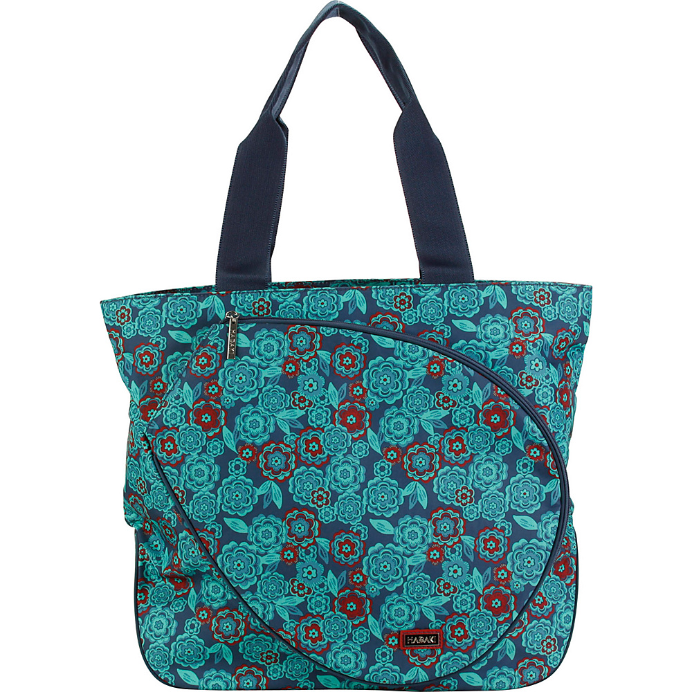 Hadaki Tennis Tote Floral - Hadaki All-Purpose Totes - Travel Accessories, All-Purpose Totes