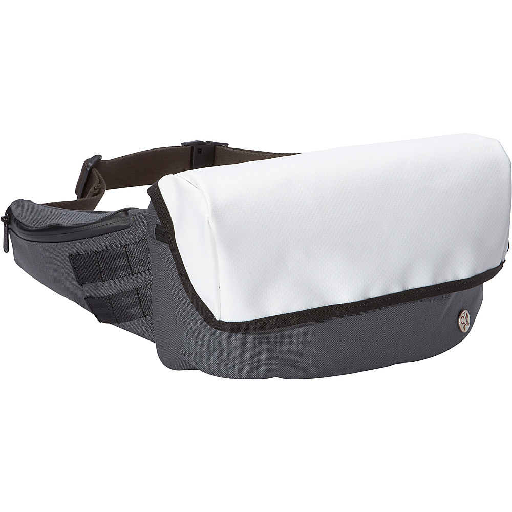 TOKEN Cordura Classic Grand Army Waist Bag S Grey White TOKEN Waist Packs