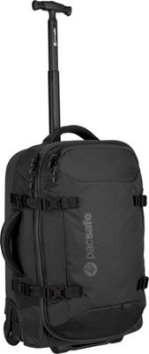 Pacsafe Toursafe AT21 Wheeled Duffel Black - Pacsafe Rolling Duffels