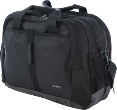Olympia USA Casual Business Case Black - Olympia USA Non-Wheeled Business Cases