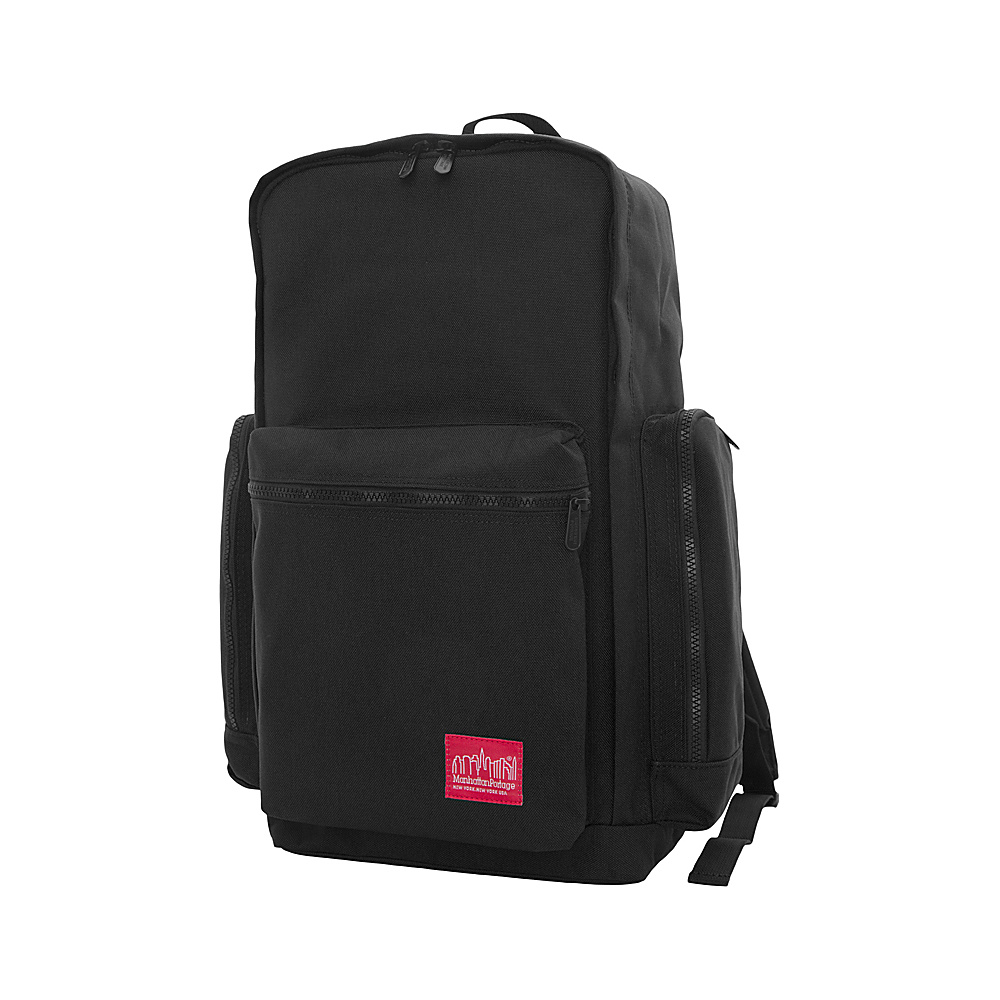 Manhattan Portage Inwood Hiking Daypack Black - Manhattan Portage Day Hiking Backpacks - Outdoor, Day Hiking Backpacks