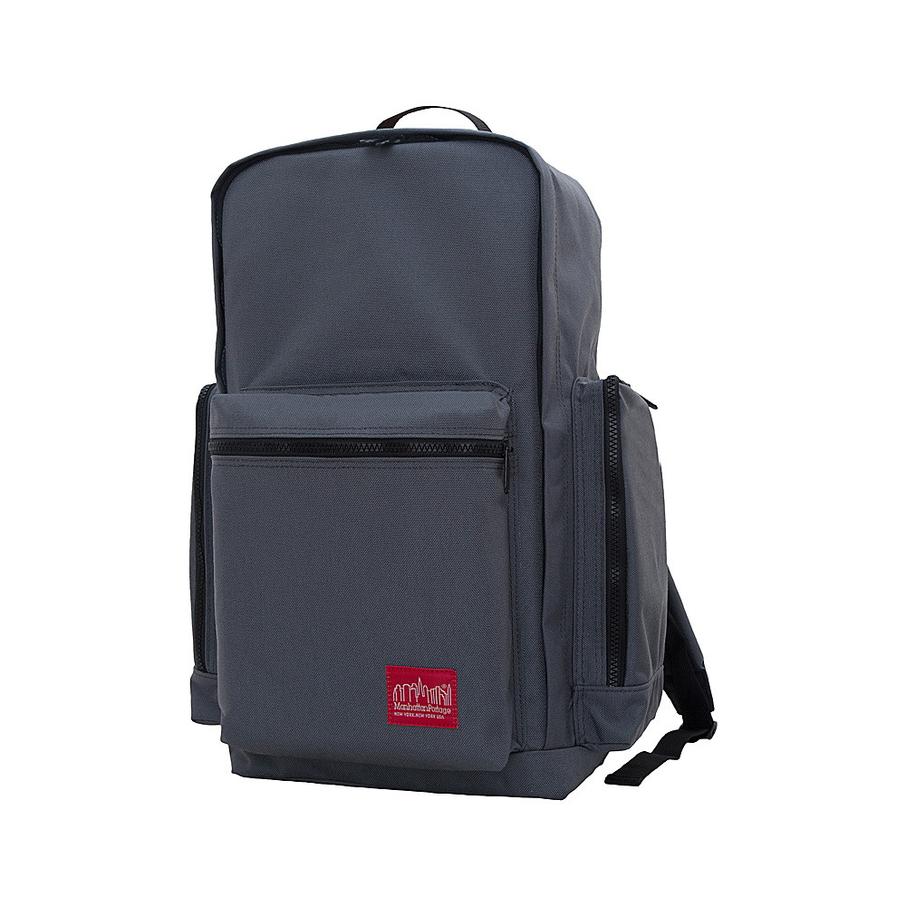 Manhattan Portage Inwood Hiking Daypack Gray - Manhattan Portage Day Hiking Backpacks - Outdoor, Day Hiking Backpacks