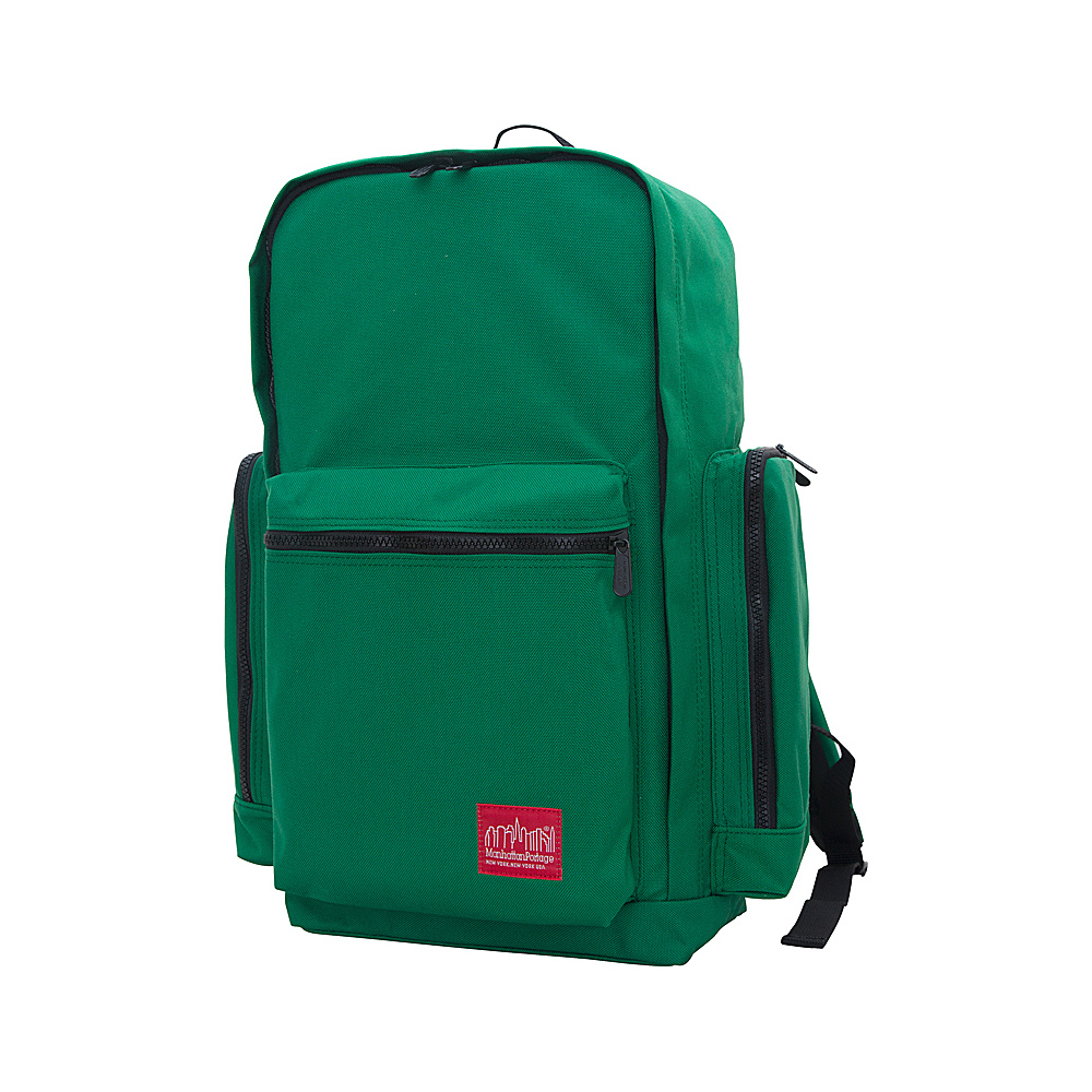 Manhattan Portage Inwood Hiking Daypack Green - Manhattan Portage Day Hiking Backpacks - Outdoor, Day Hiking Backpacks