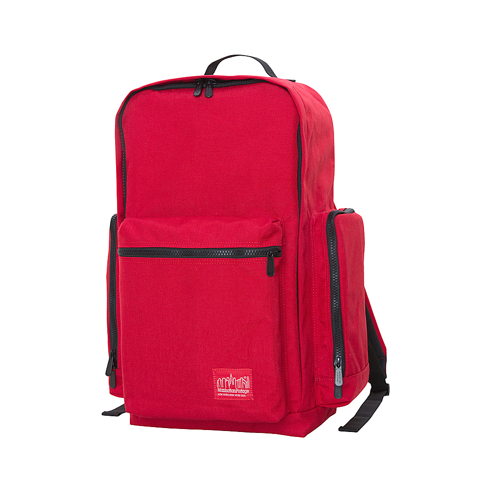 Manhattan Portage Inwood Hiking Daypack Red - Manhattan Portage Day Hiking Backpacks - Outdoor, Day Hiking Backpacks