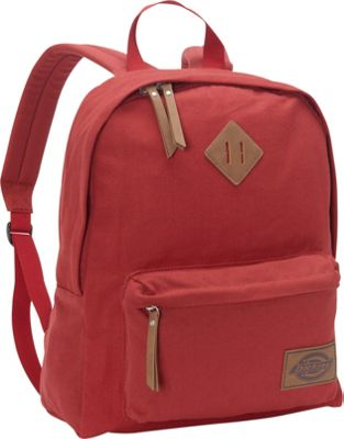 Dickies Canvas Backpack Scarlet Red - Dickies Everyday Backpacks