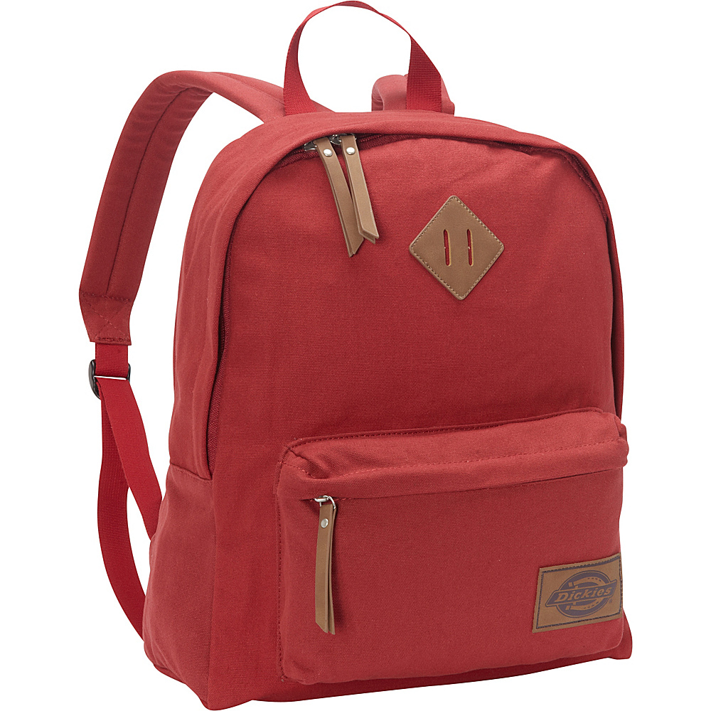 Dickies Canvas Backpack Scarlet Red Dickies Everyday Backpacks
