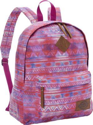 Dickies Canvas Backpack WATERCOLOR TRIBAL - Dickies Everyday Backpacks