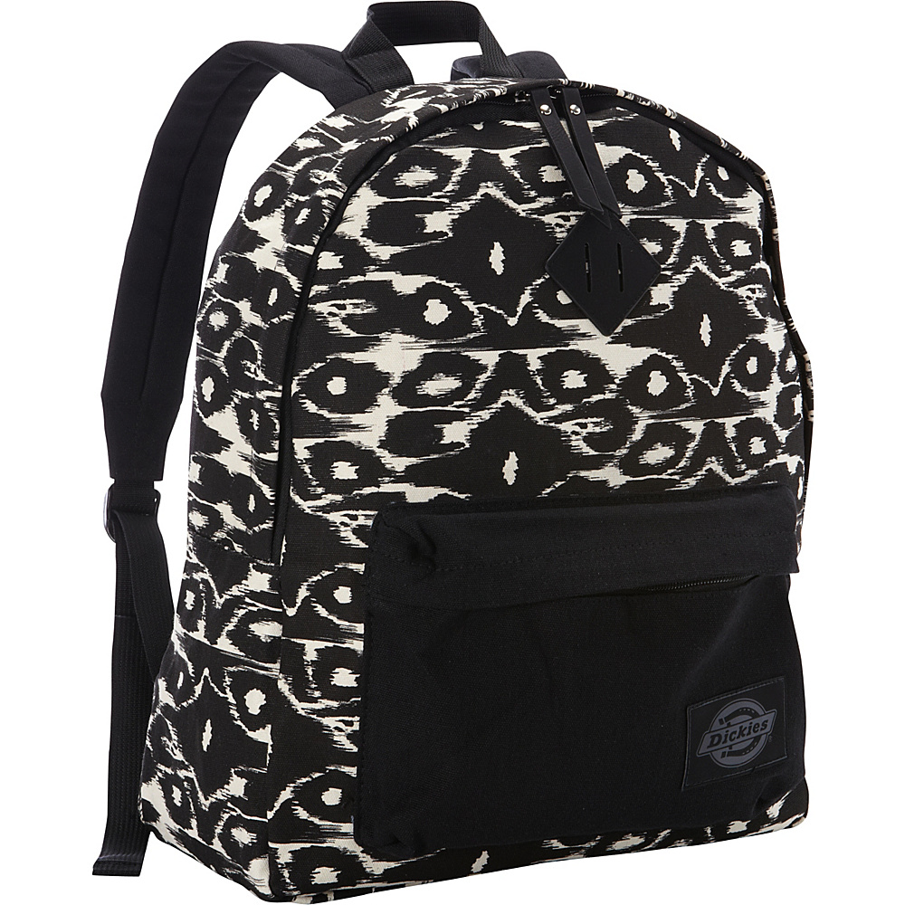 Dickies Canvas Backpack BLACK MODERN IKAT Dickies Everyday Backpacks