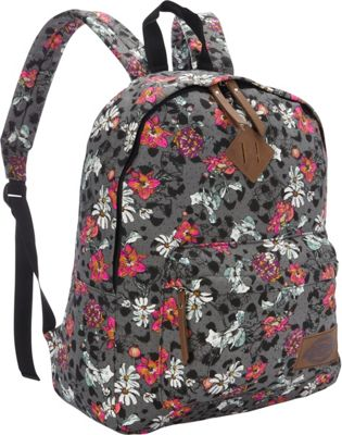 Dickies Canvas Backpack FLORAL CHEETAH STAMP - Dickies Everyday Backpacks