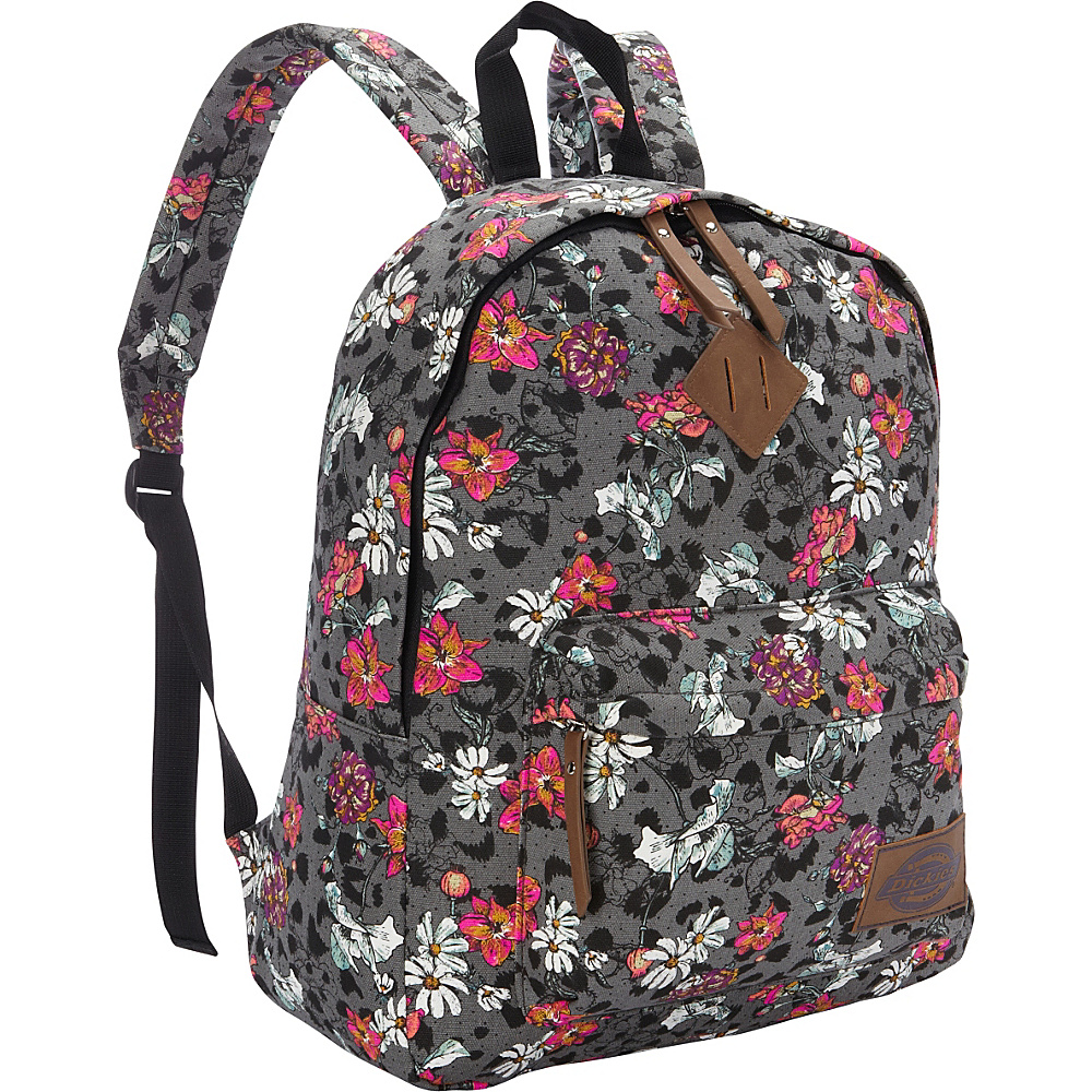 Dickies Canvas Backpack FLORAL CHEETAH STAMP Dickies Everyday Backpacks