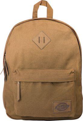 Dickies Canvas Backpack Duck Brown - Dickies Everyday Backpacks