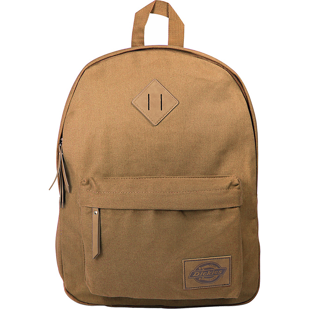 Dickies Canvas Backpack Duck Brown Dickies Everyday Backpacks