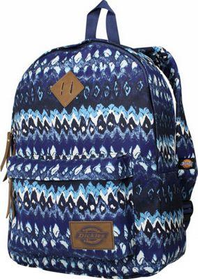 Dickies Canvas Backpack RIPPLE IKAT - Dickies Everyday Backpacks
