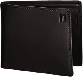 Hartmann Luggage Belting Collection Medium Wallet with Coin Pocket Heritage Black - Hartmann Luggage Men's Wallets