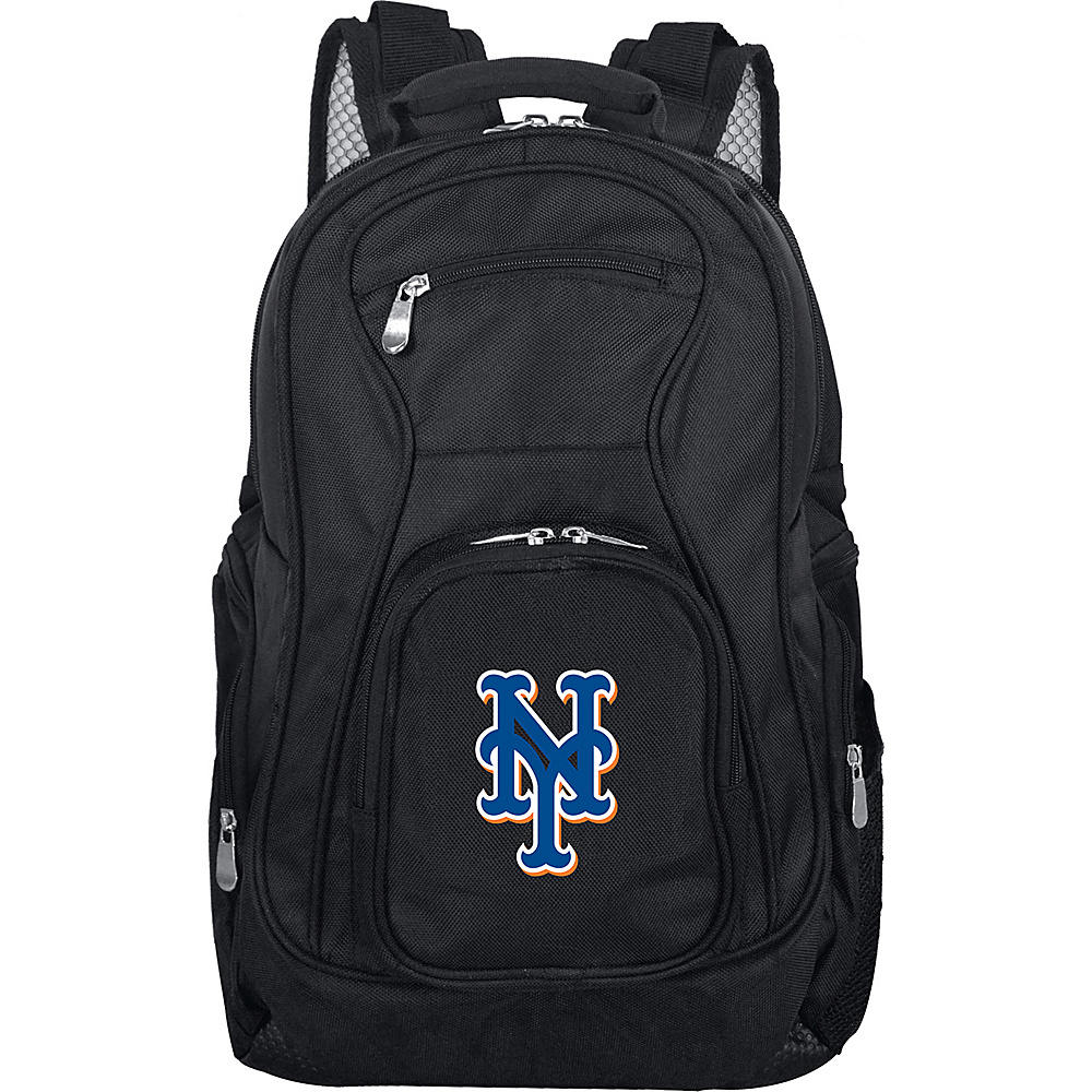 Denco Sports Luggage MLB 19 Laptop Backpack New York Mets - Denco Sports Luggage Business & Laptop Backpacks - Backpacks, Business & Laptop Backpacks