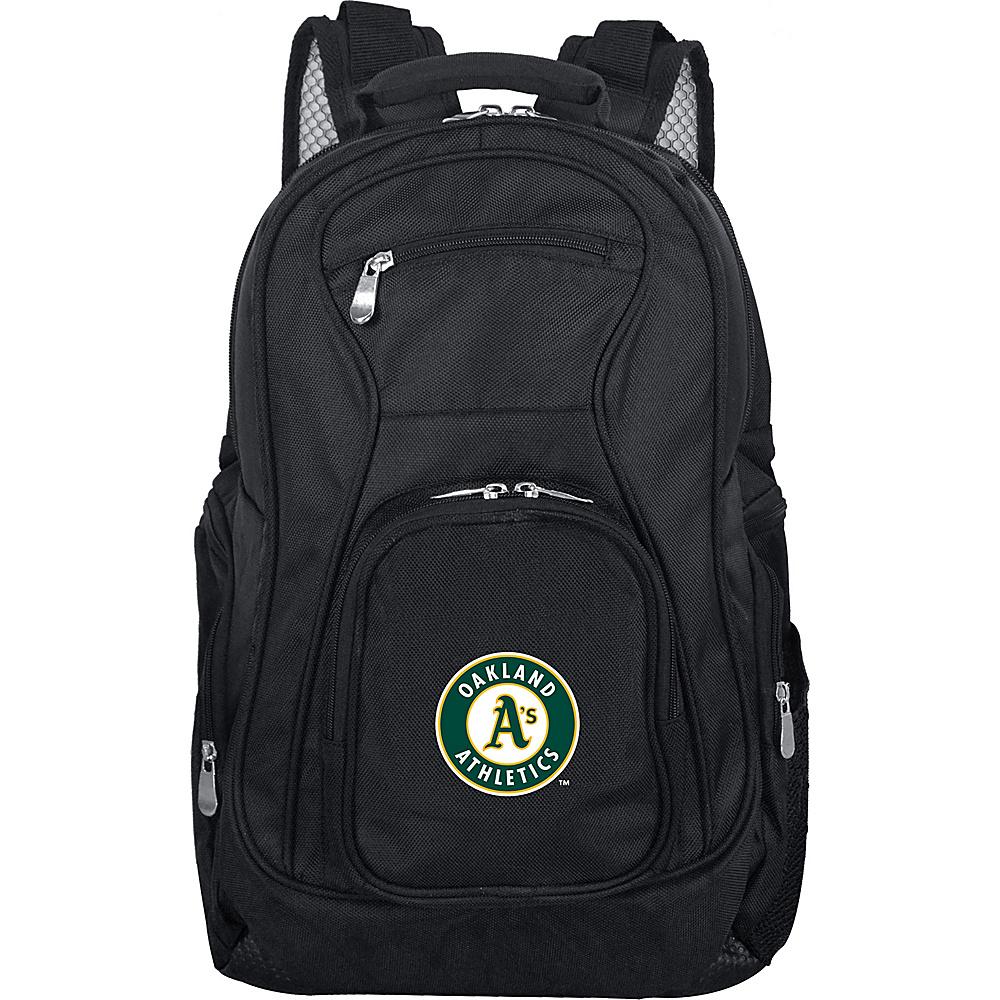 Denco Sports Luggage MLB 19 Laptop Backpack Oakland As - Denco Sports Luggage Business & Laptop Backpacks - Backpacks, Business & Laptop Backpacks