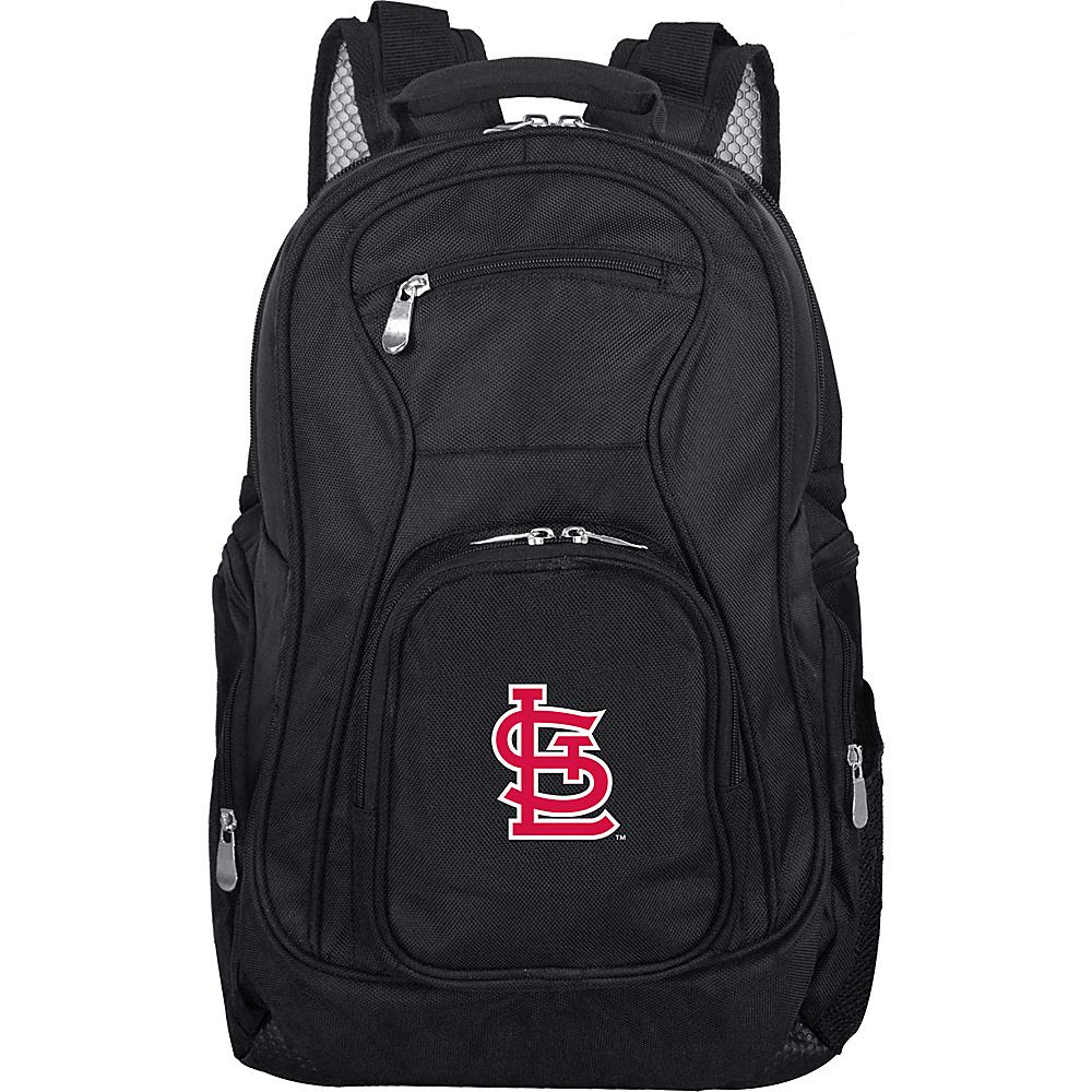 Denco Sports Luggage MLB 19 Laptop Backpack St Louis Cardinals - Denco Sports Luggage Business & Laptop Backpacks - Backpacks, Business & Laptop Backpacks