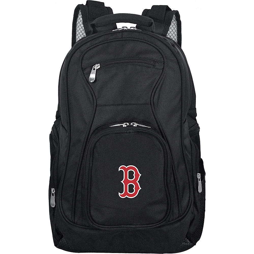 Denco Sports Luggage MLB 19 Laptop Backpack Boston Red Sox - Denco Sports Luggage Business & Laptop Backpacks - Backpacks, Business & Laptop Backpacks