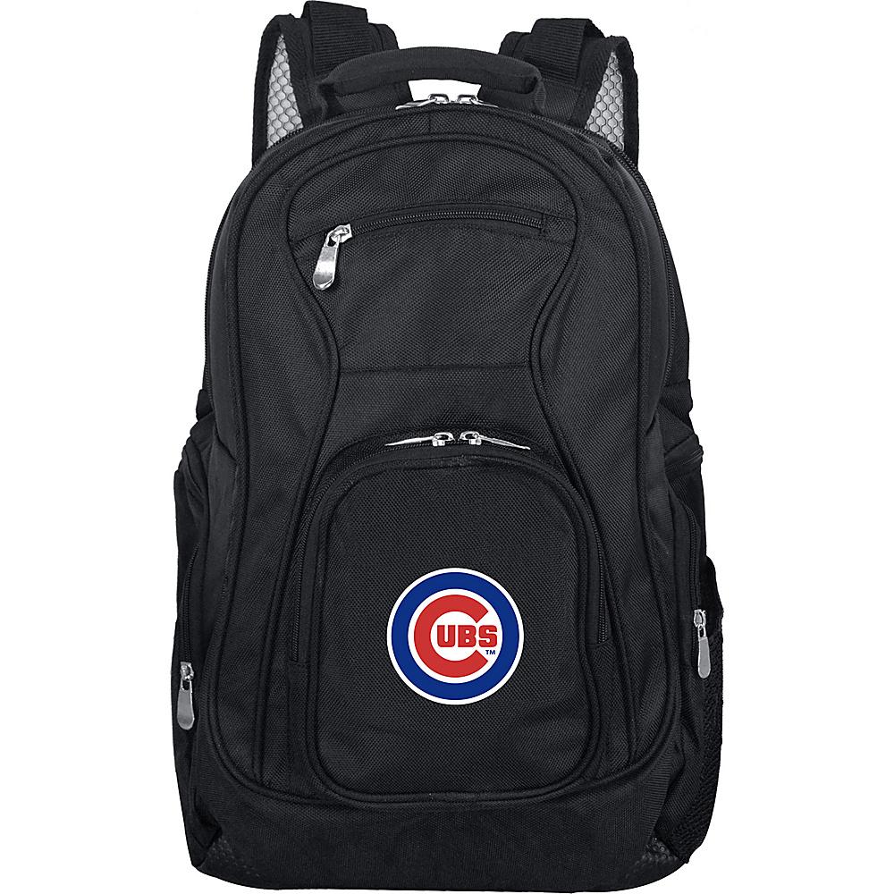 Denco Sports Luggage MLB 19 Laptop Backpack Chicago Cubs - Denco Sports Luggage Business & Laptop Backpacks - Backpacks, Business & Laptop Backpacks