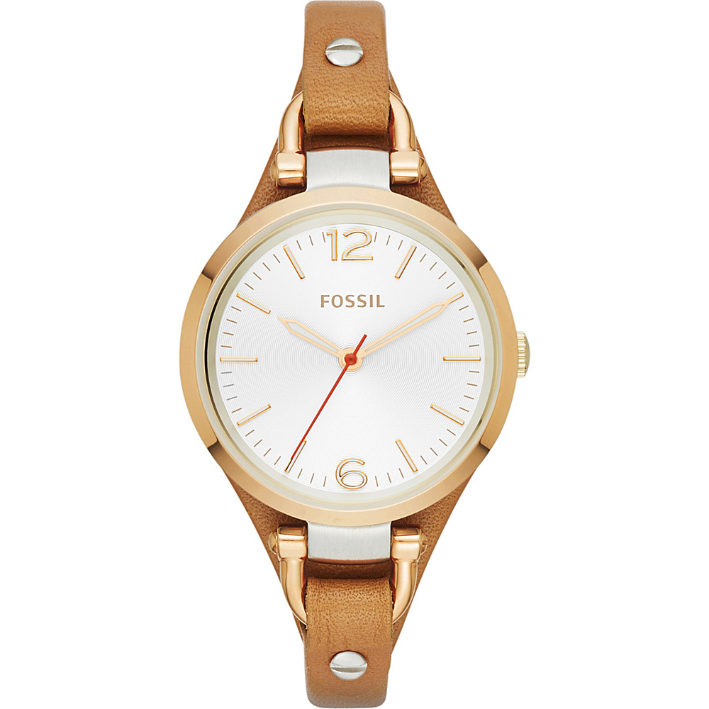 Fossil Women's Georgia Watch Gold - Fossil Watches