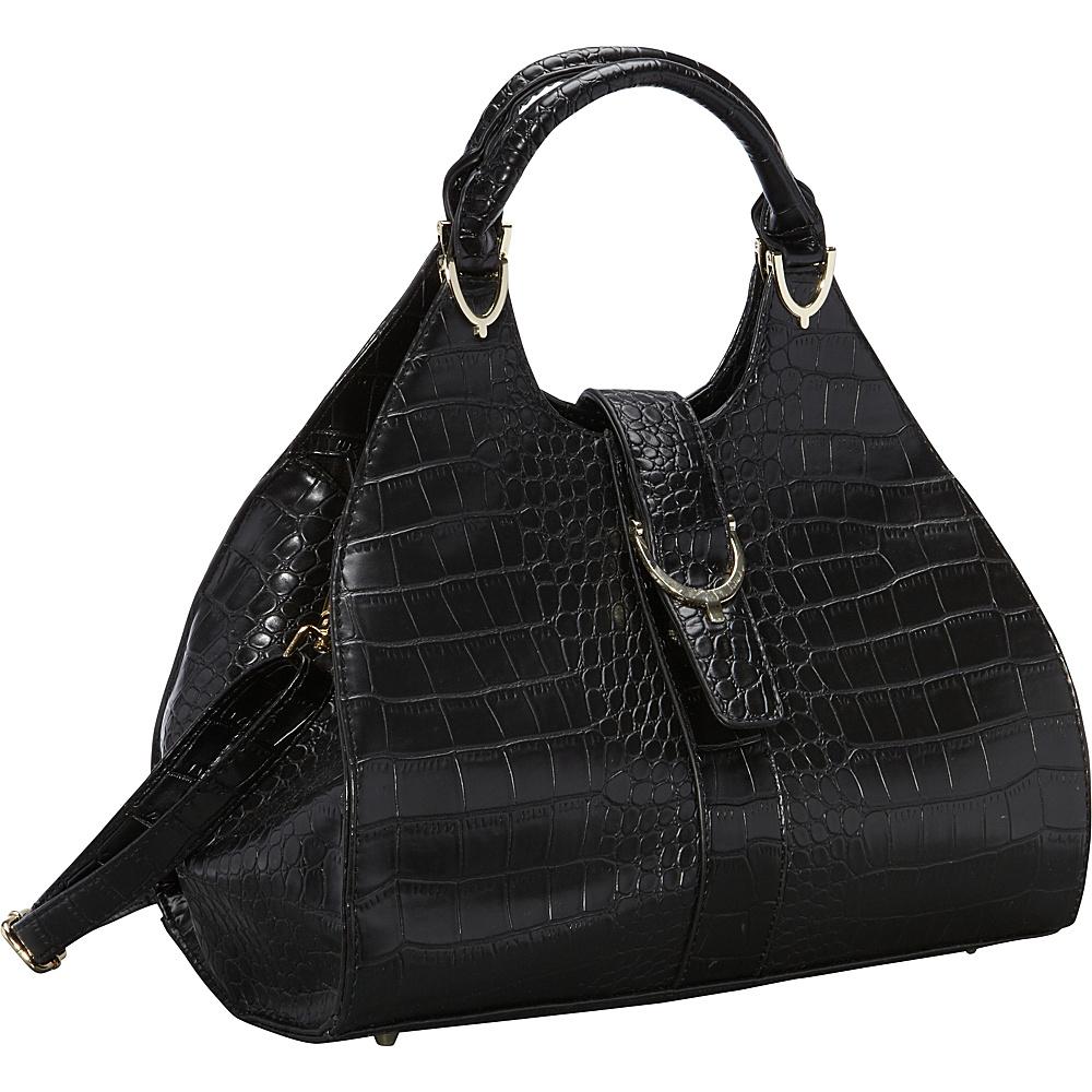 Ann Creek Miami Hobo Black Ann Creek Manmade Handbags
