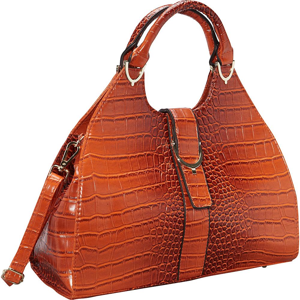 Ann Creek Miami Hobo Orange Ann Creek Manmade Handbags