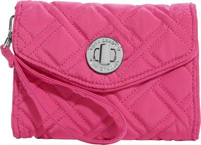 Vera Bradley Your Turn Smartphone Wristlet- Solids Deep Pink - Vera Bradley Ladies Wallet on a String