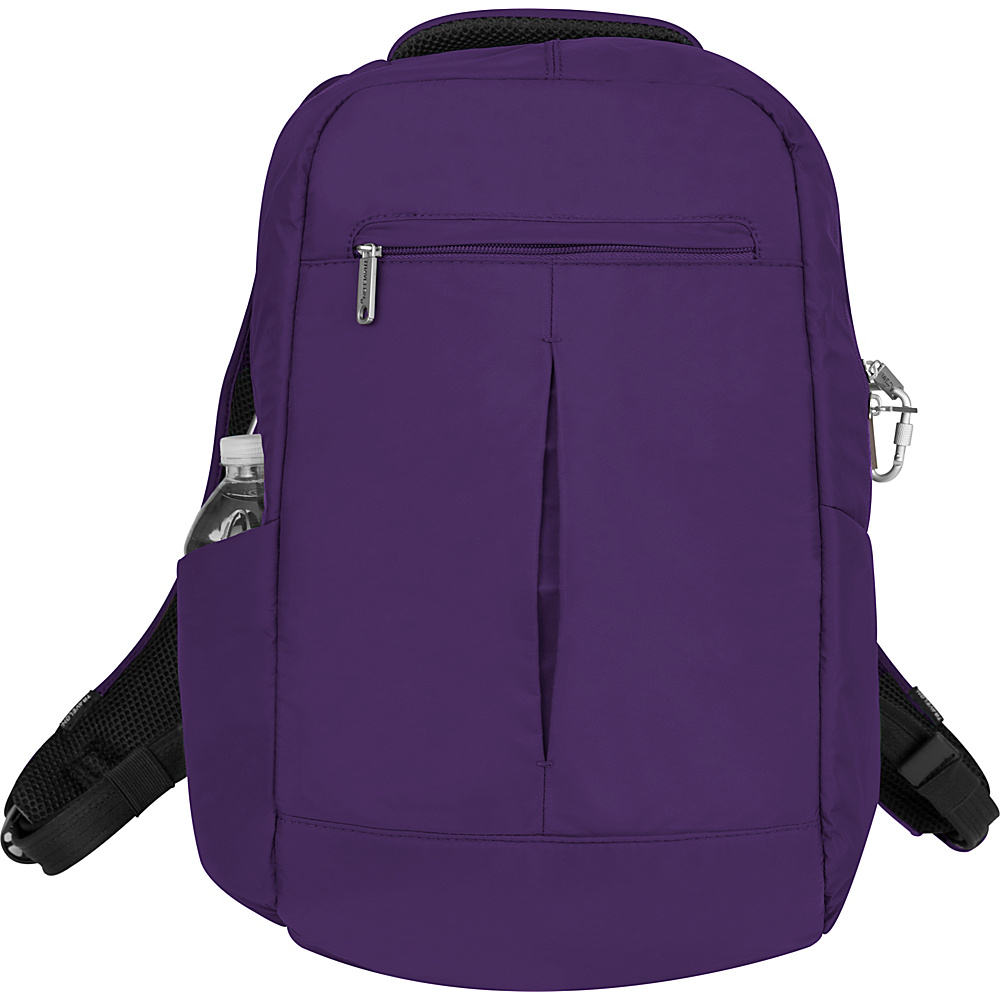 Travelon Anti-Theft Classic Backpack Purple - Travelon Business & Laptop Backpacks