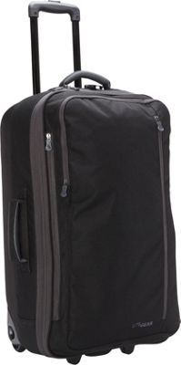 LiteGear 26 inch Hybrid Rolling Bag Black - LiteGear Softside Checked