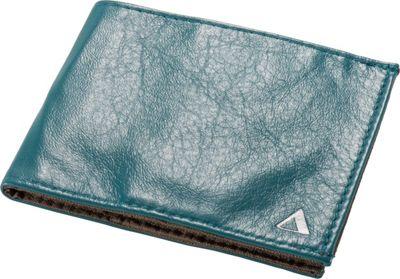 Image of Allett Leather Sport Wallet Aquamarine - Allett Mens Wallets