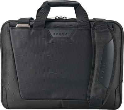 Everki Agile Slim 16 inch Laptop Bag Black - Everki Non-Wheeled Business Cases