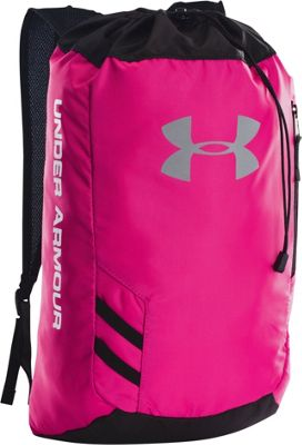 Under Armour Trance Sackpack Tropic Pink/Black/White - Under Armour Everyday Backpacks