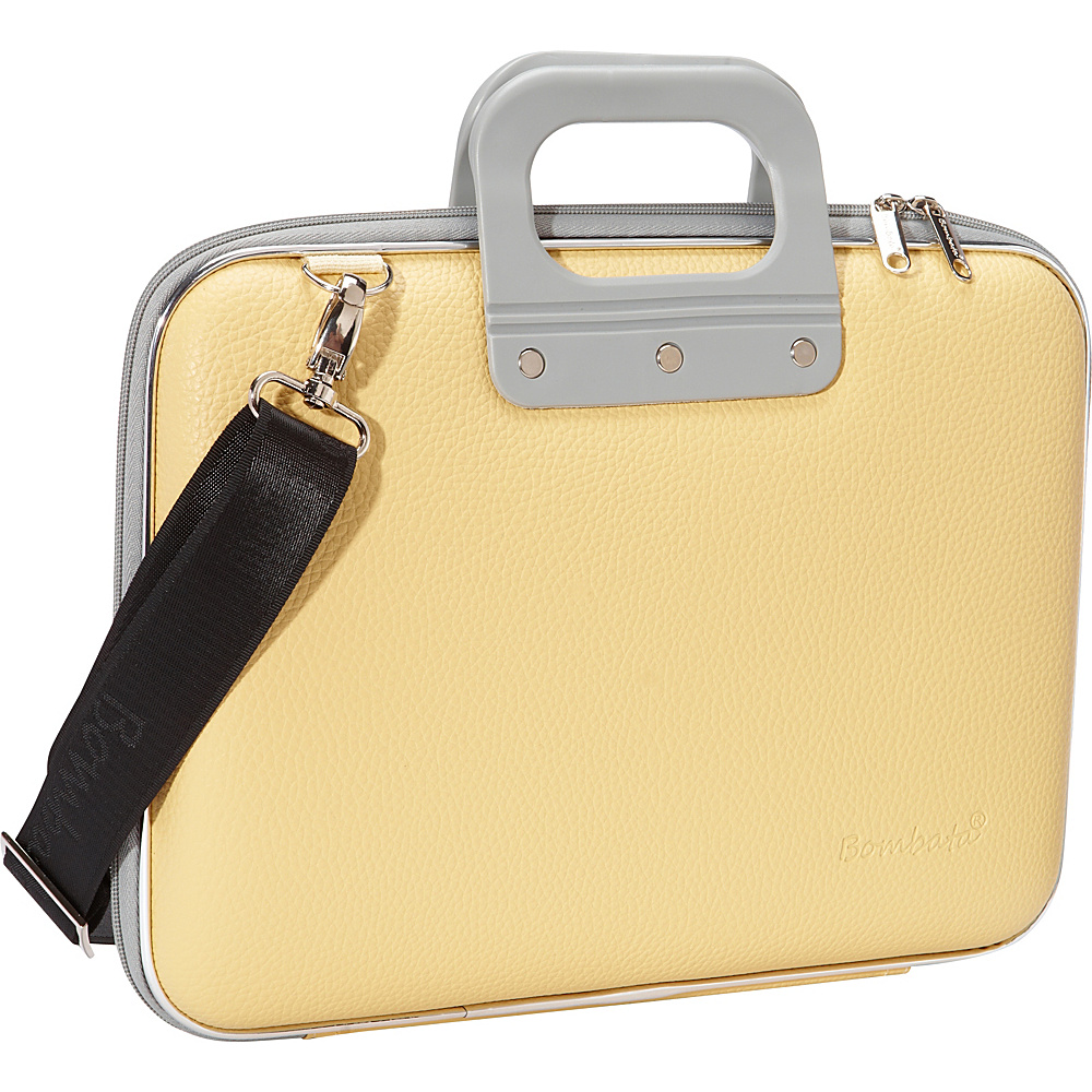 Bombata Medio 13 inch Laptop Bag Pastel Yellow Bombata Non Wheeled Business Cases