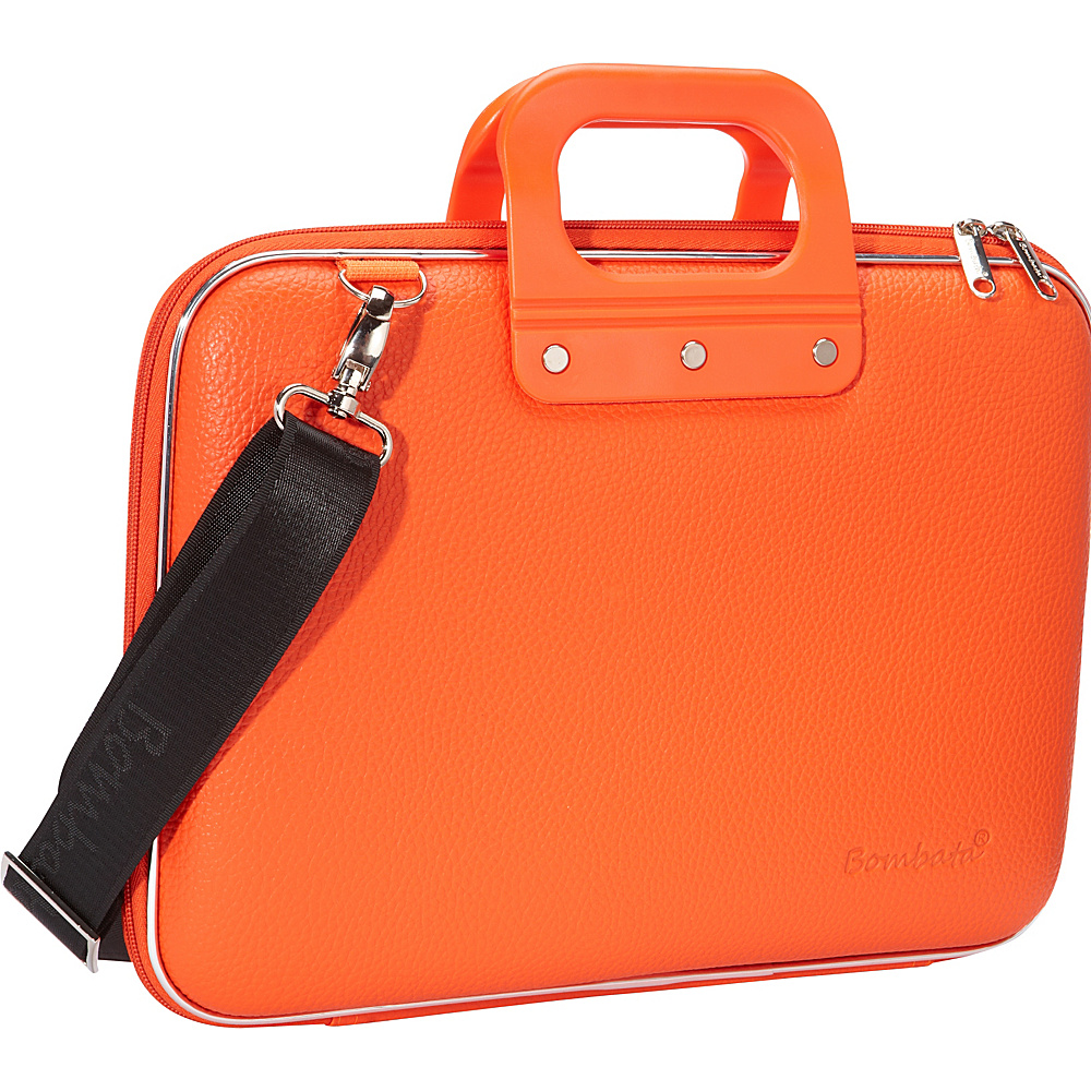 Bombata Medio 13 inch Laptop Bag Orange Bombata Non Wheeled Business Cases