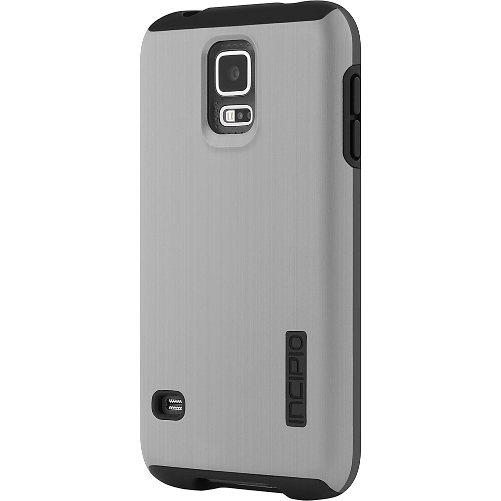 Incipio DualPro Shine for Samsung Galaxy S5 Silver Black Incipio Electronic Cases