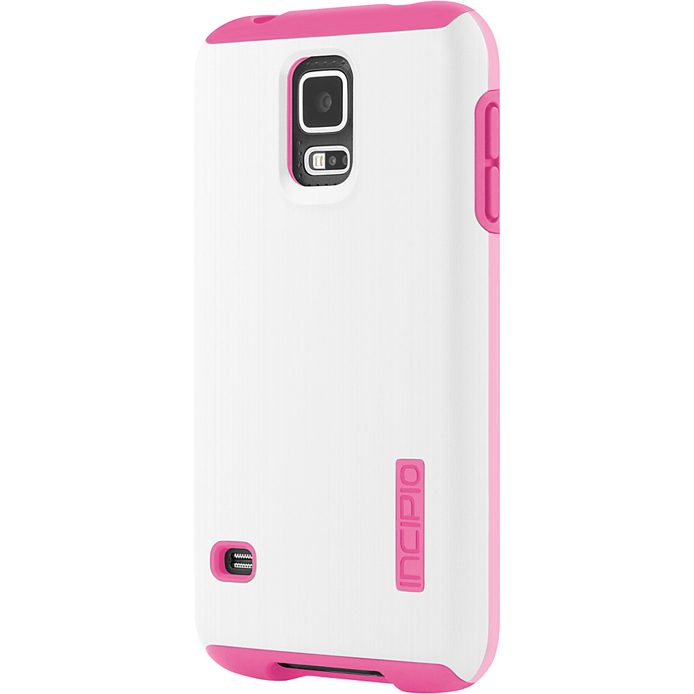 Incipio DualPro Shine for Samsung Galaxy S5 White Pink Incipio Electronic Cases
