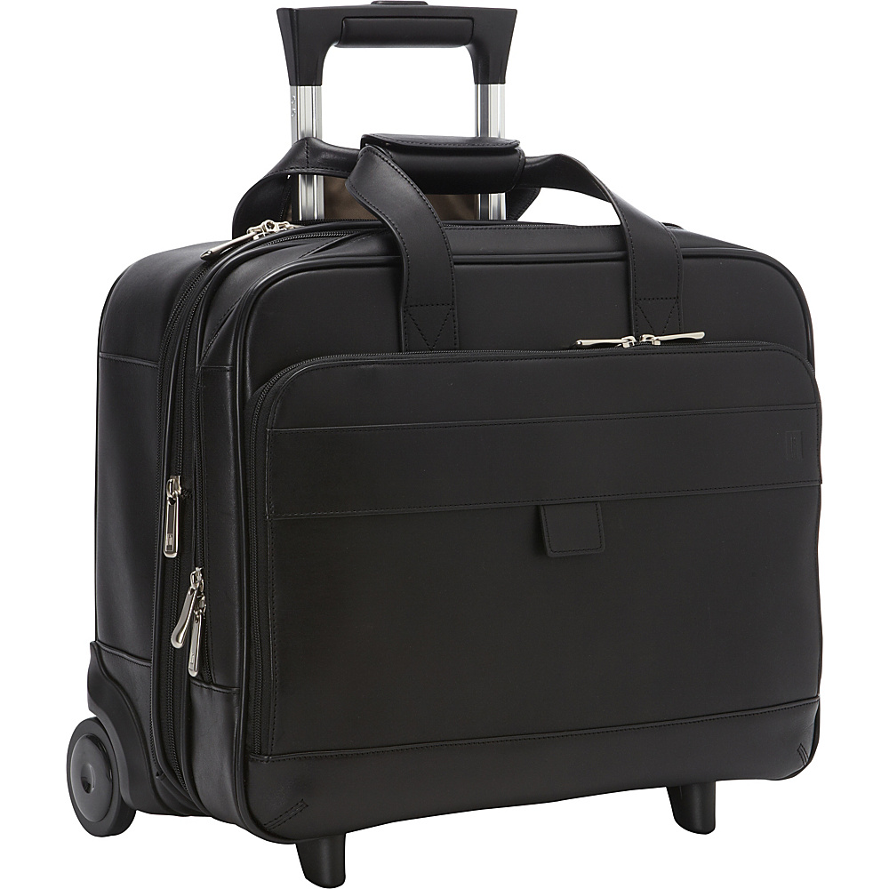 Hartmann Luggage Heritage Mobile Office Black Hartmann Luggage Wheeled Business Cases