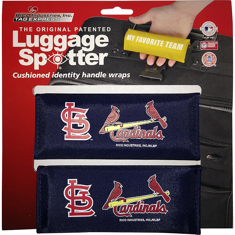 Luggage Spotters MLB St. Louis Cardinals Luggage Spotter Blue Luggage Spotters Luggage Accessories