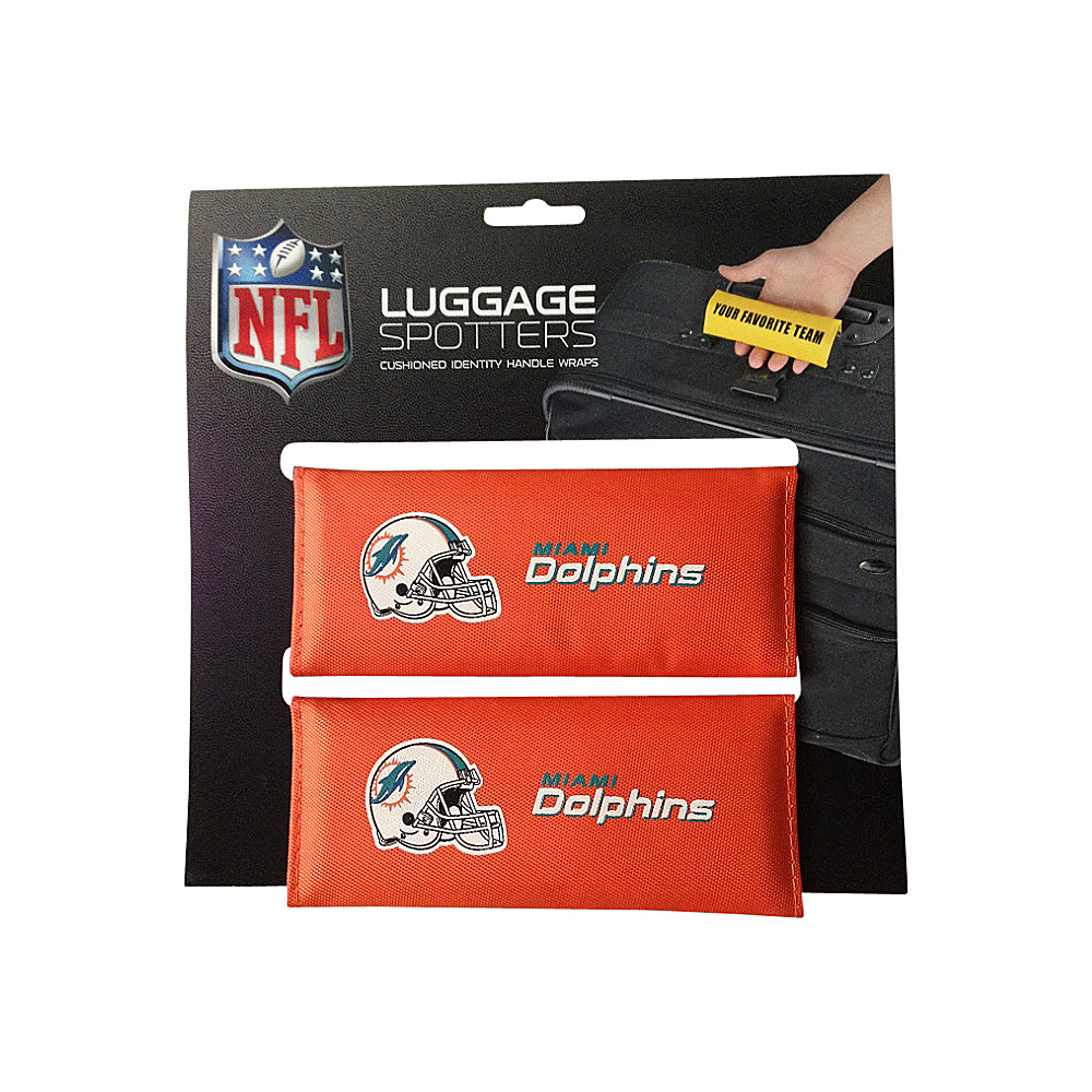 Luggage Spotters NFL Miami Dolphins Luggage Spotter Orange Luggage Spotters Luggage Accessories