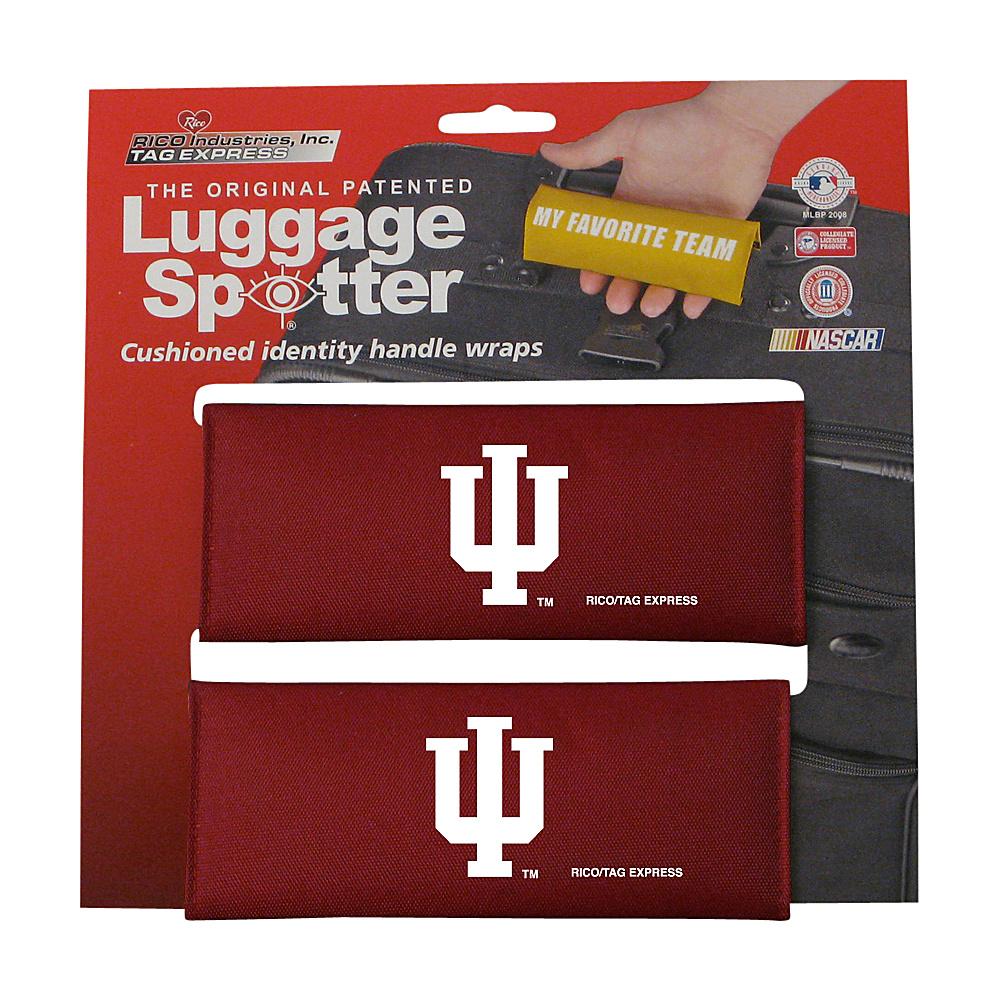 Luggage Spotters NCAA Indiana Hoosiers Luggage Spotter Red Luggage Spotters Luggage Accessories