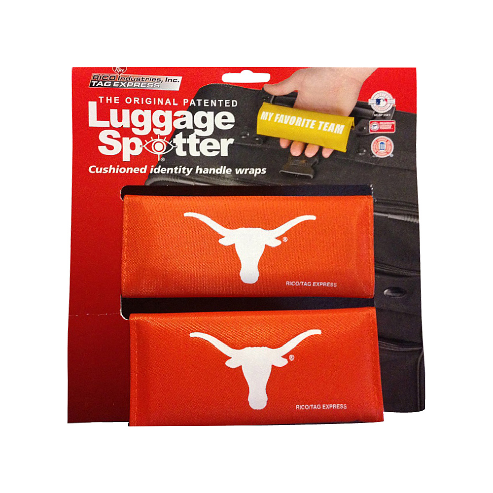 Luggage Spotters NCAA Texas Longhorns Luggage Spotter Orange Luggage Spotters Luggage Accessories